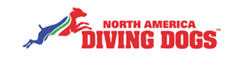 North American Dock Diving Dogs Logo