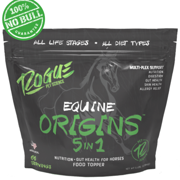 Origins Equine 5in1 Front Side of Package