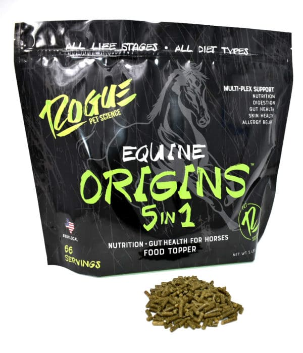 Origins Equine 5in1 Horse Supplement Package with Pellets